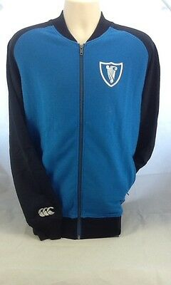 Canterbury Rugby Leinster Track Jacket  - Size Large