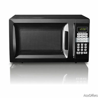 New Hamilton Beach Microwave Oven 0.7 Cu Ft LED Display 700W Kitchen Countertop