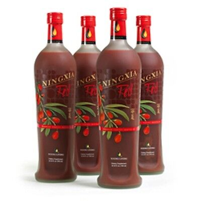 YOUNG LIVING NINGXIA RED  2016  UNOPENED!!  Four 750 ml bottles in one carton!