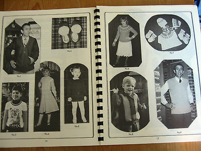 Vintage Knitting Machine Book Beginners Family Knits Ladies Children Mens