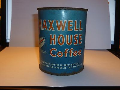 Vintage Maxwell House Coffee Can British Rare