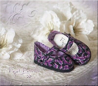 "FOOT PETALS CUSTOM Doll Shoes #31 for 13"" Effner Little Darling, Tonner Patsty"