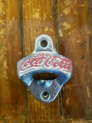 Coca-Cola Old Fashioned Wall Mount Bottle Opener!