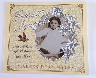 Brown Angels Book Walter Dean Myers Poems Vintage Pictures African American Kids