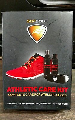 Sofsole athletic care kit complete care for athletic shoes NIB