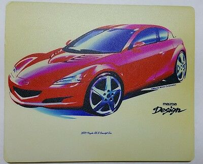 Mazda rx-8 Renisis 2001 concept mouse pad
