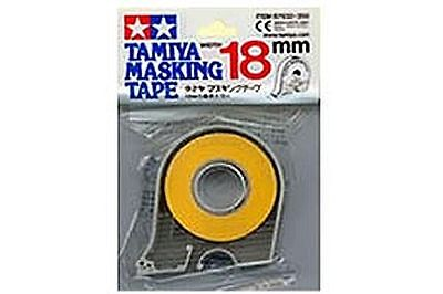 Tamiya Masking Tape 18m rolls 6,10 or 18mm wide  £1.00 post for any quantity