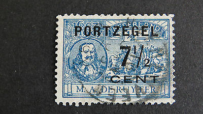 Netherlands Postage Due NVPH P37 Used
