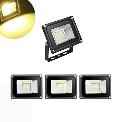 4x 20W LED Flood Light Warm White SMD Floodlight for Outdoor Security Light IP65
