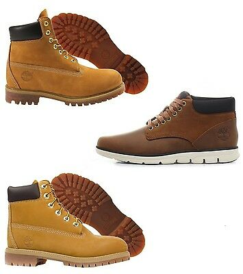 Scarpe Uomo Donna Junior Timberland 10061 12909 Chukka Leather Brown A13EE Nuovo