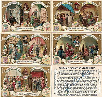 Trade cards LIEBIG s771 Famous painters