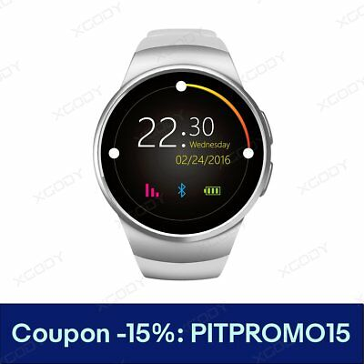 Bluetooth Smart Watch Orologio Intellige SIM GSM Per Android Samsung iPhone Sony