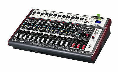 2200 Watts Peak Output 12 Channel Professional Powered Mixer ATL-AUDIO XE-712
