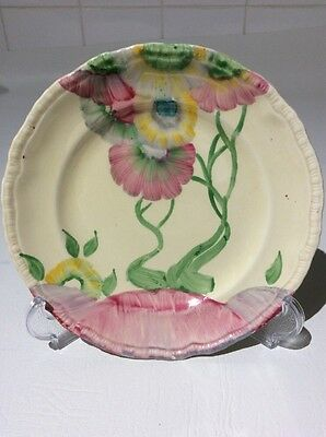 1930s Art Deco Rare Clarice Cliff 'Rhodanthe' 7 Inch Side Tea Plate 1