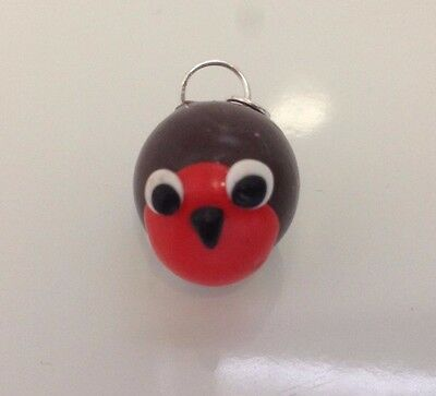 Cute Robin Redbreast Sweet Pea Chick in Birdcage Gift Decoration Christmas