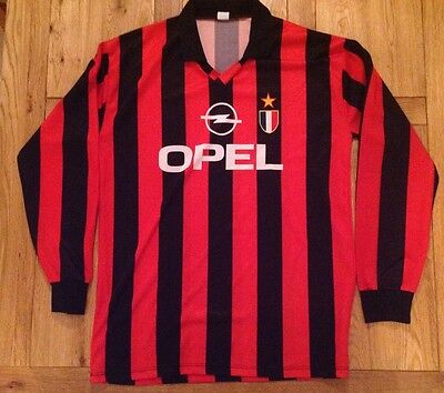 AC Milan Home Football Shirt Season Used Size XL Excellent Condition