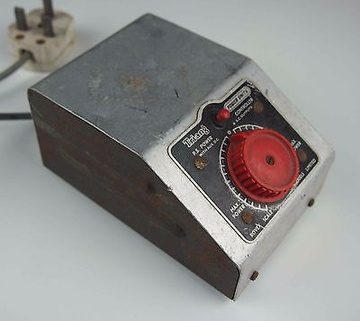 Genuine Triang Model railway transformer controller working vintage collectible