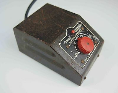 Genuine Triang Model railway transformer controller vintage collectible see text