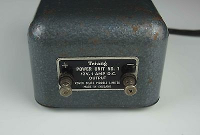 Genuine Triang Model railway transformer 12V 1A fixed output see text