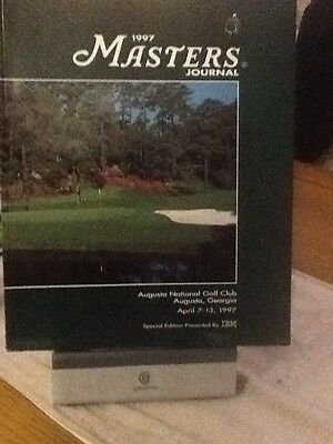 Us Masters Golf Programme 1997