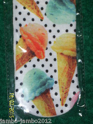 ICECREAM Trainer SOCKS; UK Shoe 3-7 3D Digital Photo Sox UK Seller