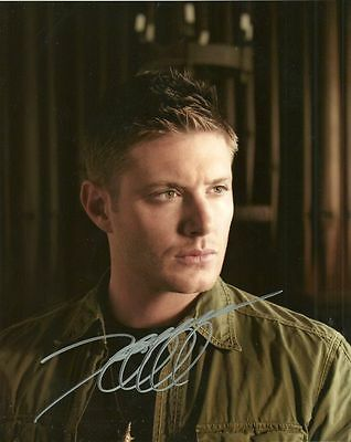 JENSEN ACKLES    is a  8 BY 10 INCH AUTOGRAPHED PICTURE WITH A COA