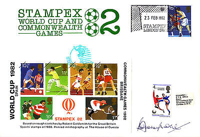 Bobby Moore SIGNED FDC World Cup 1966 England 66 West Ham CoA First Day Cover
