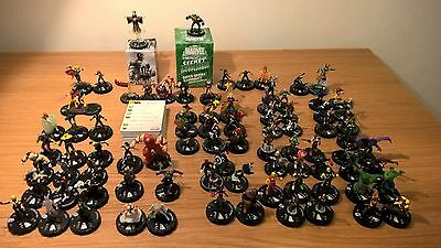 Large Marvel Heroclix Lot Incl Sr And Le