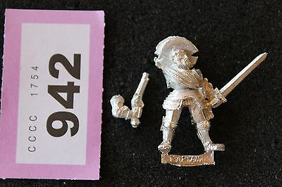 Games Workshop Mordheim Reiklander Captain New Warhammer Metal Figure Empire A1