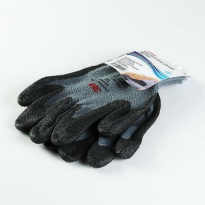 3M Comfort Grip Gloves Winter Warm In Cold Weather Nitrile Foam Coated XL L