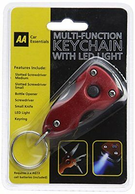 AA Multi-Function Key Chain with LED Light