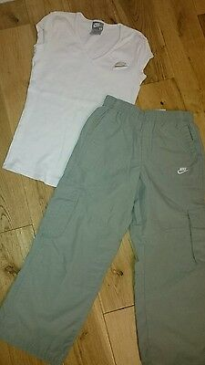 Nike trousers and top, size 6-7