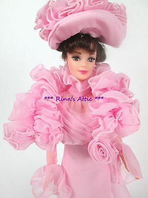 MY FAIR LADY Barbie Doll ELIZA DOOLITTLE ~ Pink Gown
