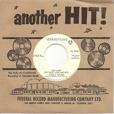 Lyn Taitt And The Jets - Bat Man / The Joker 7""