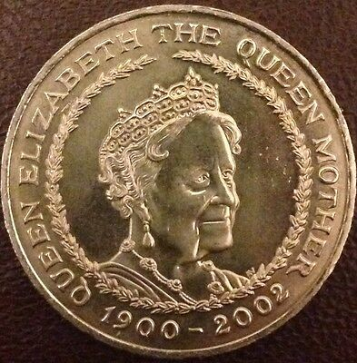 £5 FIVE POUNDS COIN Elizabeth II The QUEEN MOTHER 1900-2002 COLLECTION Collector