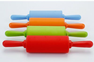 Silicone Non Stick Rolling Pin for Cookie Kid Baking Pastry Tool Dough Roller