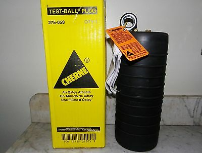 "New CHERNE Multi Size 6"" -  8"" Test Ball SEWER PIPE PLUG"