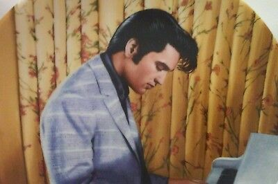 """Elvis Presley  Delphi 13th Plate """"His Hand In Mine Plate"""" Looking at a Legend"""