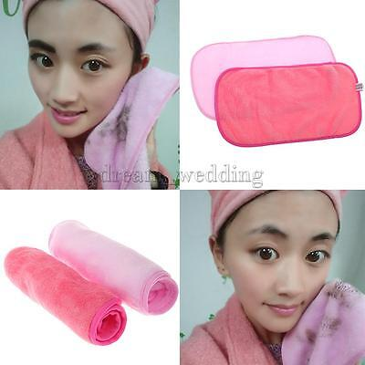 Reusable Makeup Remover Microfiber Facial Cloth Healthy Face Skin Cleaning Towel