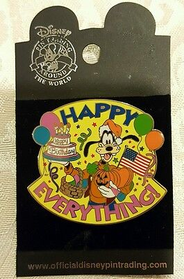 Happy Everything Goofy Disney Pin 27838