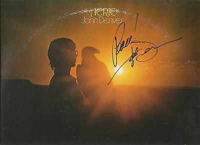 John Denver Signed Aerie Lp Casey's Last Ride City Of New Orleans Eagle Hawk