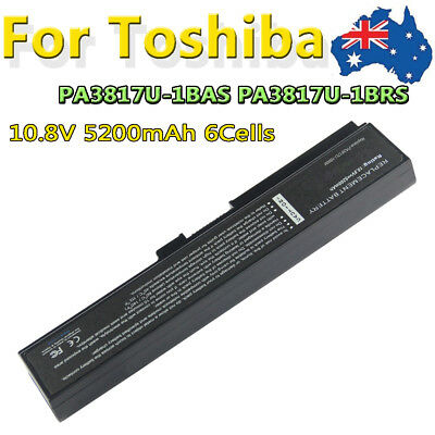 Laptop Battery PA3817U-1BRS PABAS228 for Toshiba Satellite L750 L750D Notebook