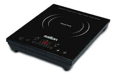 Salton ID1350 Portable Induction Cooktop, Black
