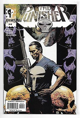 Punisher 2000 #4 Very Fine/Near Mint Garth Ennis