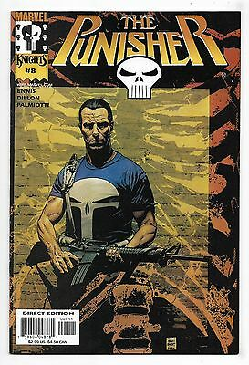 Punisher 2000 #8 Very Fine Garth Ennis