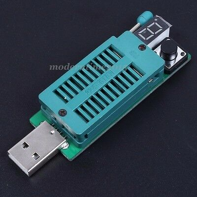 IC Tester USB Power Supply For Integrated Circuit LED Optocoupler LM339 Testing