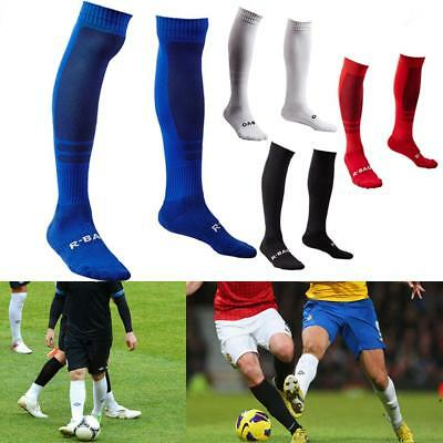 1 Pair Adult's Towel Bottom Long Socks for Football Soccer Rugby Sports Rugby