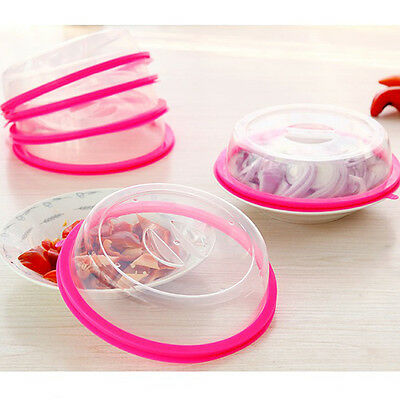 Stacked Fresh Lid Sealing Home Kitchen Accessories Food Microwave Plate Cover