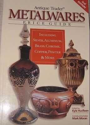 METALWARE VALUE GUIDE COLLECTOR'S BOOK silver copper pewter brass ++