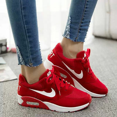 Women's Running Trainers Walking Sneakers Shock   Sports Shoes Love